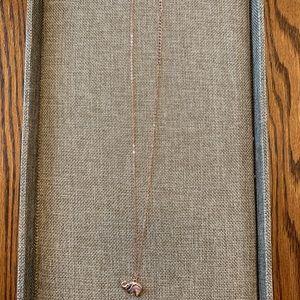 Jewelry - Rose Gold Elephant Necklace